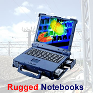 Rugged notebooks from Panasonic, Getac & Itronix